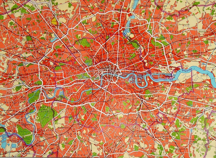 carte de Londres ©Flickr.com