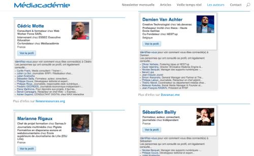 mediacademie.org - auteurs