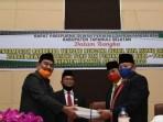 Wakil Bupati Tapsel Sampaikan Perubahan APBD 2020 dan Ranperda