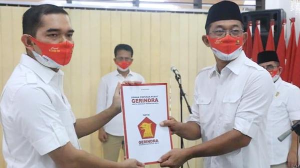 DPP Partai Gerindra Lantik Ihwan Ritonga Ketua DPC Medan