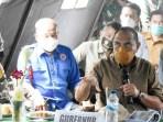Edy Rahmayadi: Bersihkan Lahan Pertanian Rakyat Akibat Erupsi Sinabung