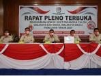 KPU Binjai gelar rapat pleno terbuka pengundian nomor urut paslon kepala daerah