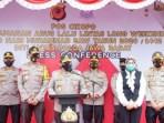 Jelang Libur Long Weekend, Wakapolri Pantau Kesiapan Pos Pengamanan Cikopo Purwakarta