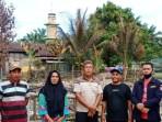 Karang Taruna Sawit Seberang Berbagi Paket Sembako Kunjungi Korban Kebakaran