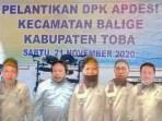 Foto: Dari kiri ke kanan, Edwart Tambunan, Frans Hendrik Tambunan, Jonson Siahaan, Pantun Pardede SSos. Msi. dan Patar Nadapdap | Turman Simanjuntak