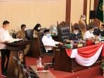 Rapat Laporan Reses di Gedung DPRD Medan