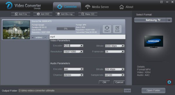Samsung TV video settings