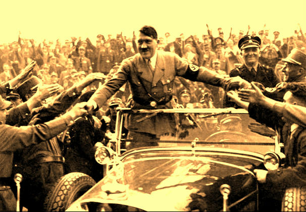 Hitler and fans