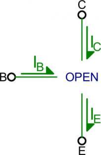Mô hình transistor ở chế độ ngưng dẫn