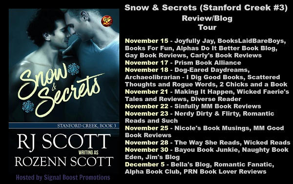 Rozenn Scott - Snow & Secrets Review Banner