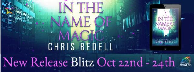 Chris Bedell - In the Name of Magic RB Banner