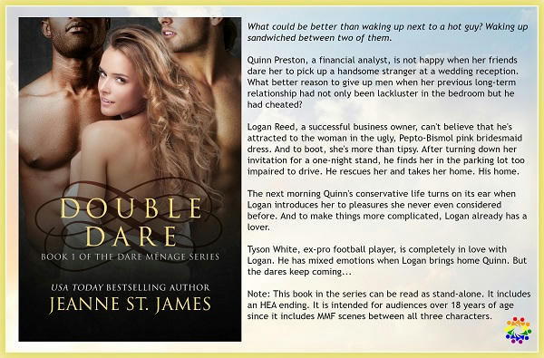 Jeanne St. James - Double Dare BLURB