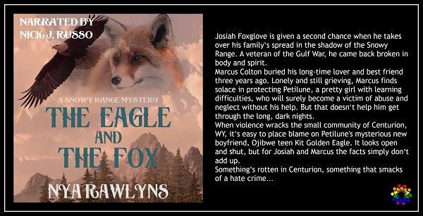 Nya Rawlyns - The Eagle and the Fox BLURB