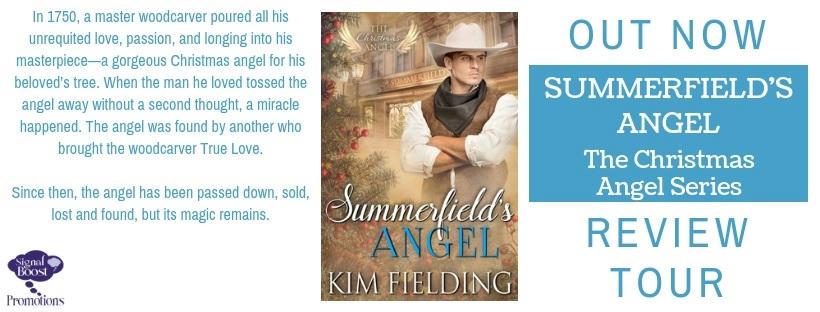 Kim Fielding - Summerfield's Angel RTBanner