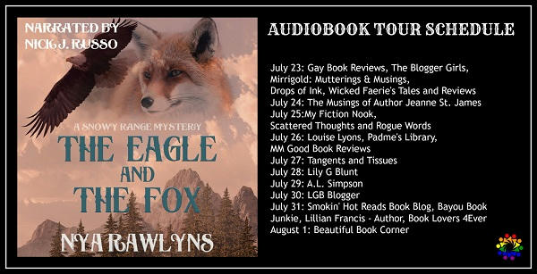 Nya Rawlyns - The Eagle and the Fox SCHEDULE
