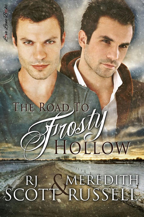 R.J. Scott & Meredith Russell - The Road to Frosty Hollow Cover
