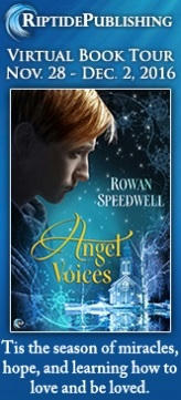 Rowan Speedwell - Angel Voices Badge