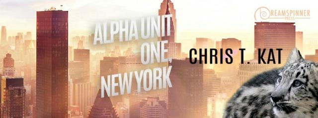 Chris T. Kat - Alpha Unit One, New York Banner