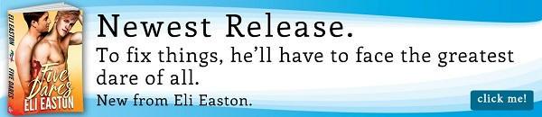 Eli Easton - Five Dares Riptide Banner