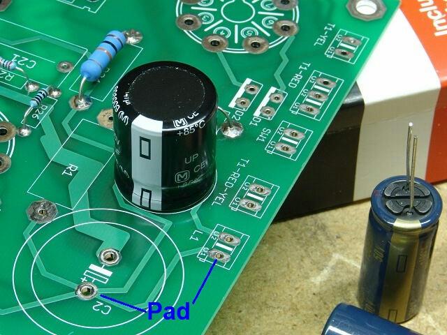 Pan trên mạch in PCB