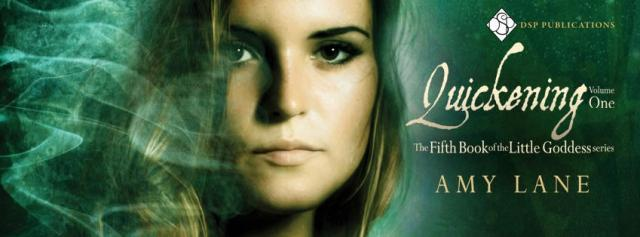 Amy Lany - Quickening Vol 01 Banner