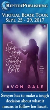 Avon Gale - The Love Song of Sawyer Bell Badge