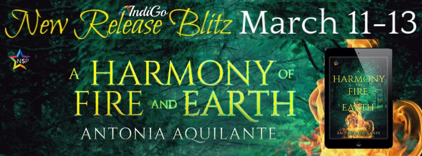 Antonia Aquilante - A Harmony of Fire and Earth RB Banner