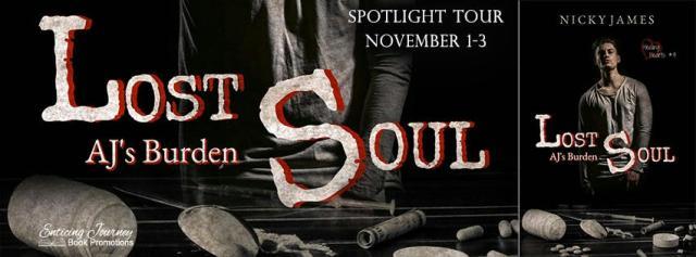 Nicky James - Lost Soul AJ's Burden Banner
