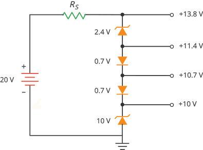Mạch tạo điện áp khác nhau