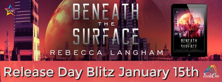 Rebecca Langham - Beneath the Surface Release Banner