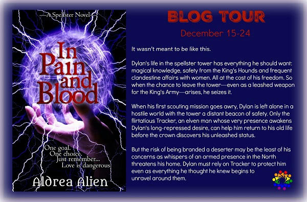 Aldrea Alien - In Blood and Pain Blurb