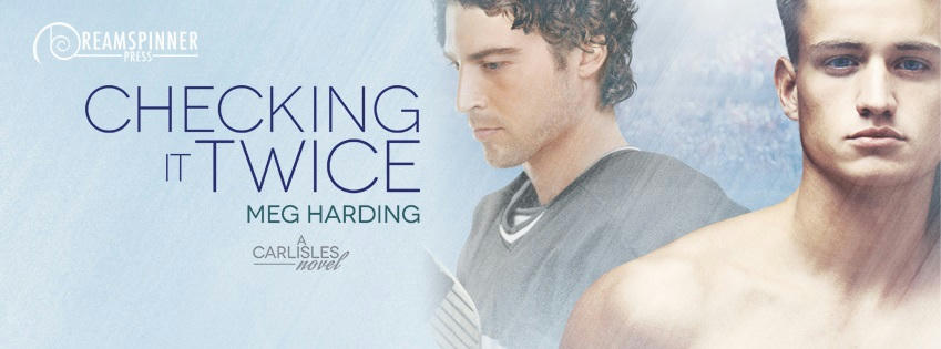 Meg Harding - Checking It Twice Banner