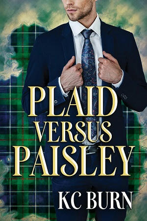 K.C. Burn - Plaid Versus Paisley Cover