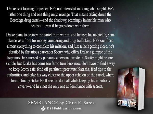 Chris E. Saros - Semblance Blurb on Picture