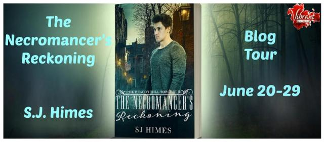 S.J. Himes - The Necromancer's Reckoning Tour Banner