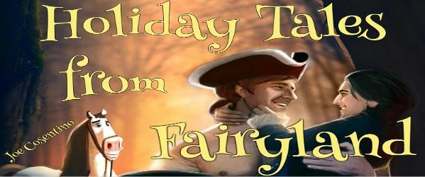 Joe Cosentino - Holiday Tales From Fairyland Banner