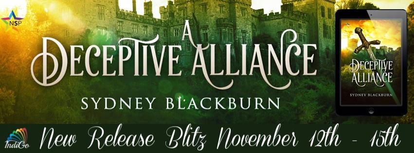 Sydney Blackburn - A Deceptive Alliance RB Banner