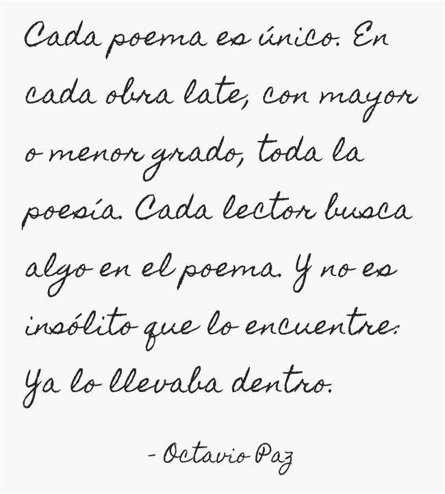 Octavio Paz (Frase del día)