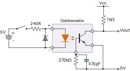 Công tắc DC dùng cách ly quang