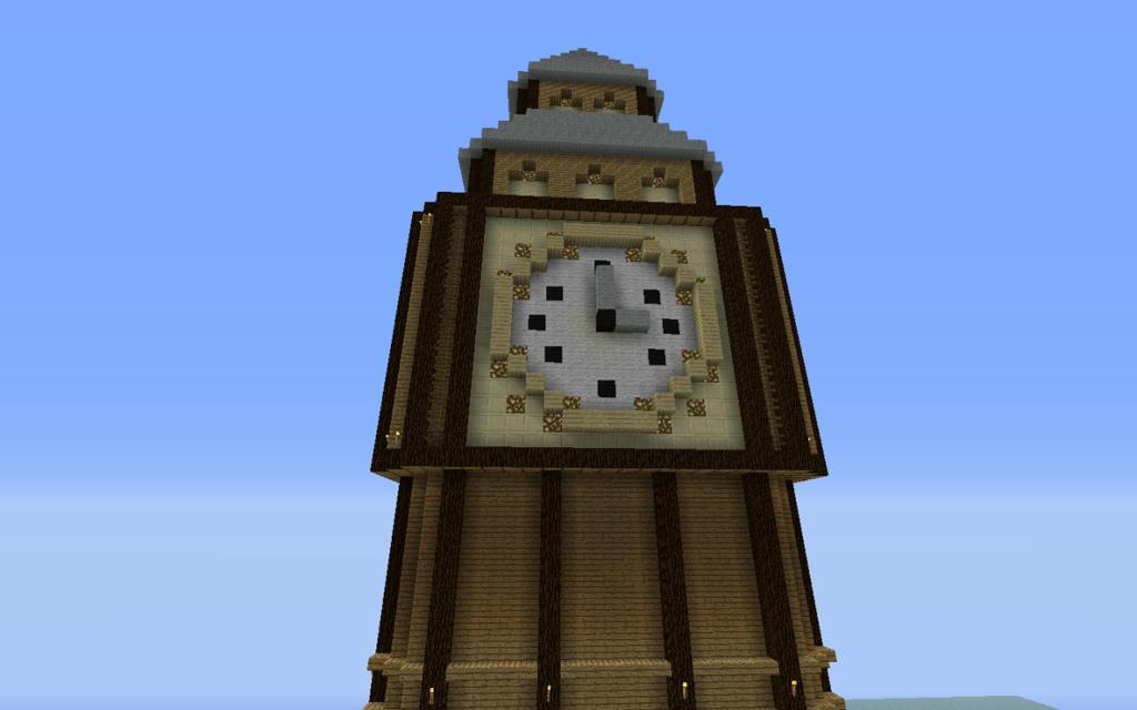 The BigBen Clock Tower Screenshots Show Your Creation Minecraft Forum Minecraft Forum