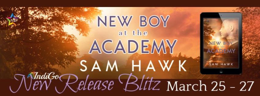 Sam Hawk - New Boy at the Academy RB Banner