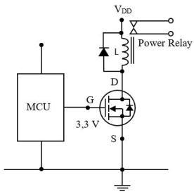 Mạch lái MOSFET bằng vi điều khiển