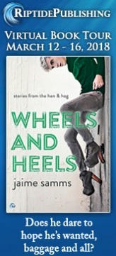 Jaime Samms - Wheels and Heels TourBadge