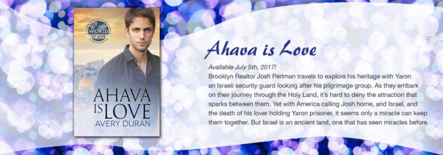 Avery Duran - Ahava is Love Banner 2