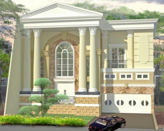 Desain Rumah Modern Nuansa Klasik Creo House