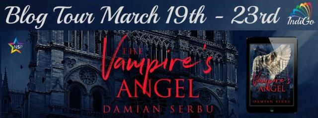Damian Serbu - The Vampire's Angel BT Banner