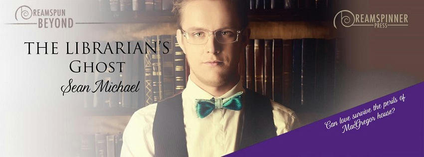 Sean Michael - The Librarian's Ghost Banner