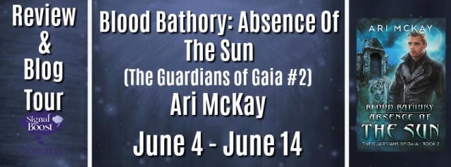 Ari McKay - Blood Bathory Absence Of The Sun TourGraphic