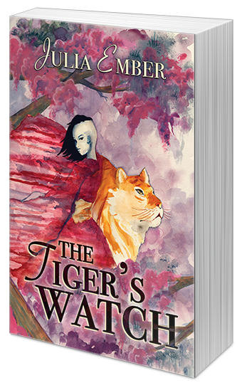 Julia Ember - The Tiger's Watch Cover 3d