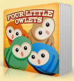 Four Little Owlets